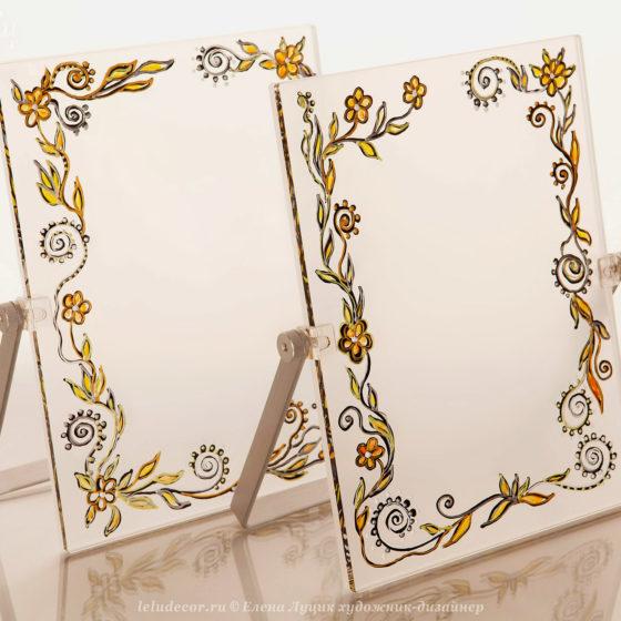 фоторамки с цветочным декором