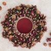 Декоративная композиция из сосновых шишек «Сказочный лес полон чудес»
